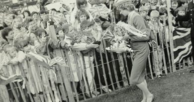 Royal fever at Charles and Diana's Leicester visit in 1986