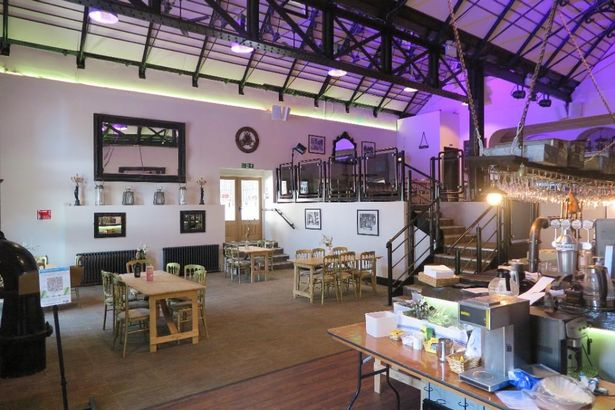 The historic venue is currently used for weddings, gourmet dining and conferences