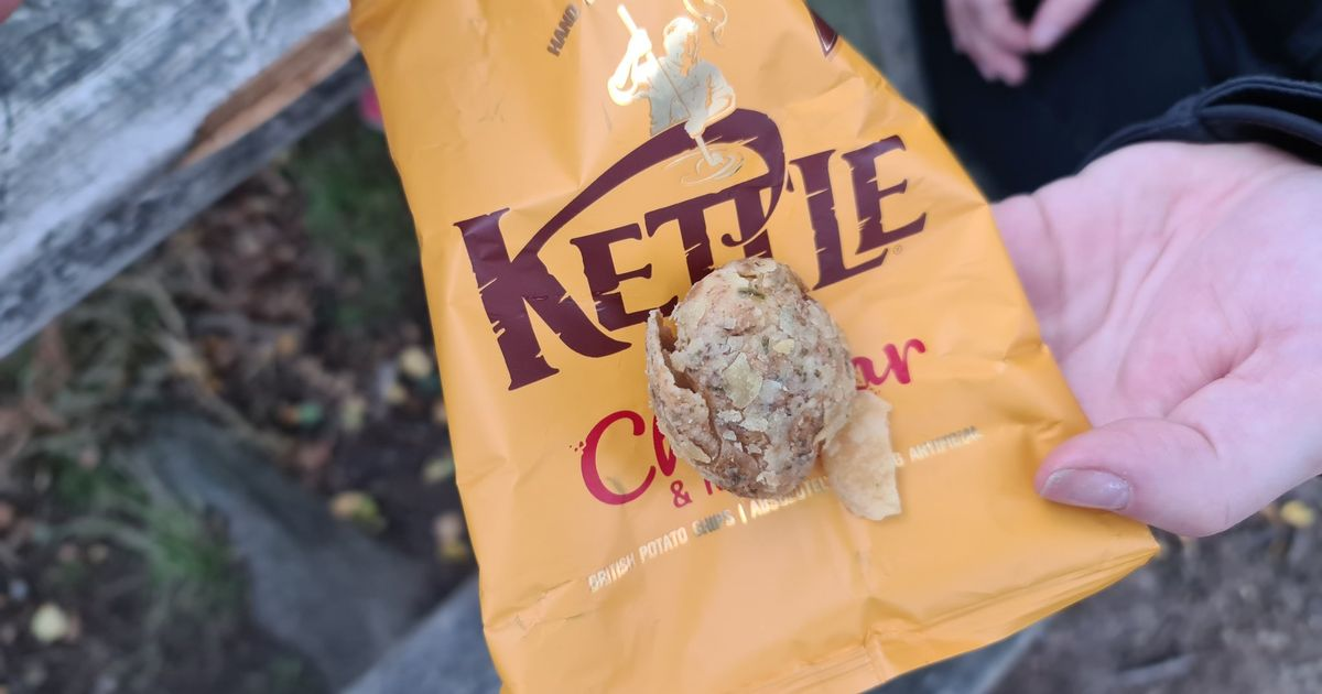 Rutland teacher finds entire potato in pack of Kettle Chips